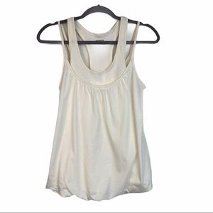 Express Off-White Double Tank
